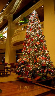 The holiday spirit and a gorgeously decorated christmas for Grand international decor