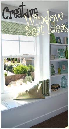 Fun ideas, great for storage as well!