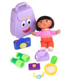dora backpack toy   Fisher Price Dora the Explorer Talking Backpack & Doll…