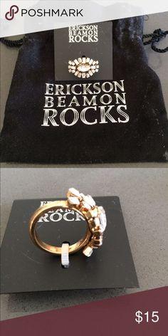 Erickson Beamon Rocks cocktail Ring NWT Erickson Beamon Jewelry Rings