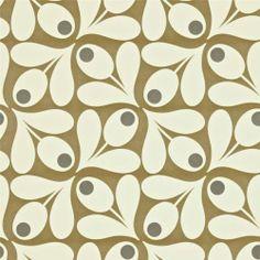 Brown Pepper 110418 Acorn Spot Orla Kiely Harlequin Wallpaper | eBay