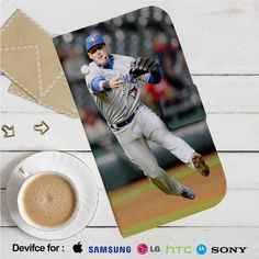Josh Donaldson Blue Jays Baseball Leather Wallet iPhone 4/4S 5S/C 6/6S Plus 7…