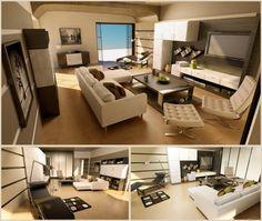 Moderne Bachelor Pad Ideen in eine moderne Villa (8)