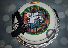 GTA 5 cake.