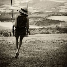 Swing With A View by Kirstin Mckee
