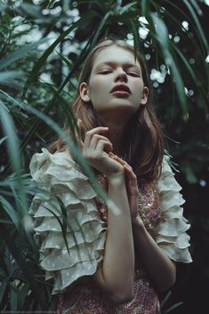 Photography: Marta Bevacqua; Model: Matiu @ IMG Paris; Make-up: Camille Lutz; Styling: Andréa Ottaviani