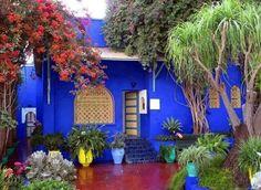 Moroccan Blue?