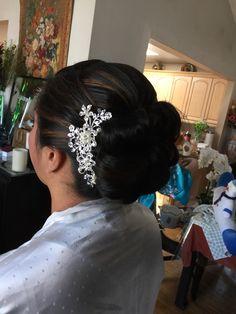 Bridal Bun side Broche
