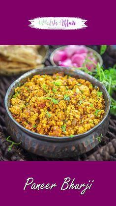Spicy Recipes, Curry Recipes, Cooking Recipes, Indian Vegetable Recipes, Indian Food Recipes, Paneer Recipes, Paneer Snacks, Paneer Dishes, Chaat Recipe