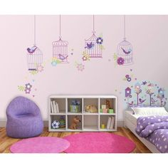 WallPops!® Chirping The Day Away Room Décor Kit - Multicolor