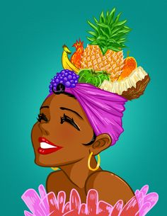 Tropical-fruit-hat by mosuga.deviantart.com on @deviantART