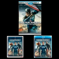 Here are the covers for Captain America: The Winter Soldier. Own it on BluRay combo pack and Dvd on September 9th 2014 !!!
