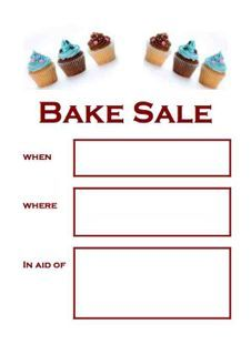 1000 images about bake sale goodies on pinterest bake sale bake sale flyer and bake sale ideas. Black Bedroom Furniture Sets. Home Design Ideas