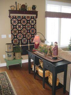 primitive decor at walmart Primitive Country Homes, Primitive Bedroom, Primitive Decor, Primitive Antiques, Prim Decor, Primitive Christmas, Country Farmhouse, Vintage Farmhouse Decor, Vintage Home Decor