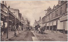 kimberley south africa 1870s Diamond City, Africa Continent, Continents, South Africa, Hiking, Street View, African, History, World