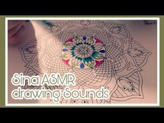 ASMR - Intense Sounds - no Talking - Theme: Mandala Part 1 ~ drawing - malen - fast tapping - YouTube #asmr #asmrsounds #latex #gloves #chalk #brush #oil #tapping #scratching #notalking #newvideo #intensesound #intense #sound #fasttapping #asmrtapping