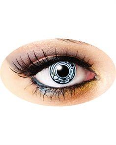 Cyborg färgade linser med tillb. 249:-   Blue Fox - rock kläder