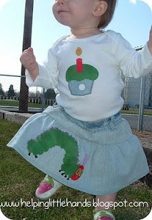 Very Hungry Caterpillar Applique Tutorial with Printable Pattern