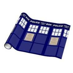 Dr Who Wrapping Paper