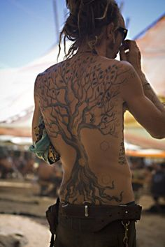 Tree of Life Tattoo - love the tree -- getting smaller version