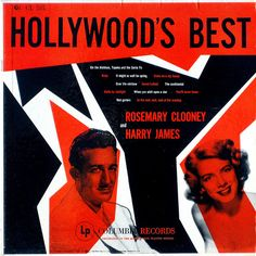 Hollywood's Best  Clooney, Rosemary and Harry James  Columbia CL 585  1955