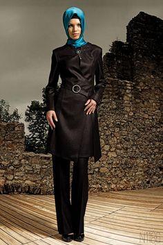 Kış Modası Kapalı Bayanlar İçin Pardesü Modellerinde Yenilik