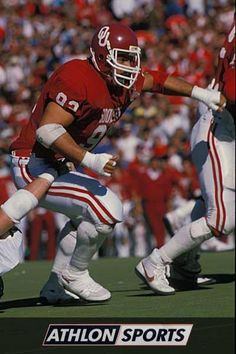 """Tony Casillas, All-American lineman for Sooners - Awarded the Lombardi Trophy for """"Best Lineman"""" - Played on 1985 National Championship Team"""
