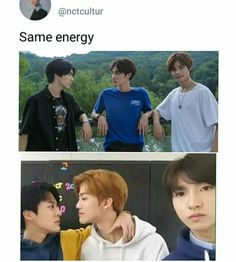 oh triangle love is so popular in nct yall - KPOP Jaehyun Nct, Winwin, Taeyong, Nct 127, K Pop, Triangle Love, All Meme, Nct Life, Funny Kpop Memes