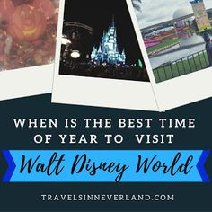 When's the best time of year to visit Walt Disney World? Click to read about the pros and cons for each month!