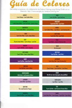 Carta De Colores  on Cake Central
