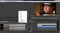 Adobe Premiere Pro CC Tutorial | Importing Or Adding Closed Captions To ...