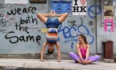 Weird Yoga in Hong Kong