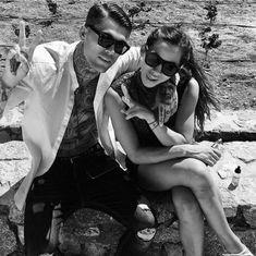 Fred Enke Negative, gorgeous pin-up girl Donna La Mana, Stephen James Model, James 3, Sexy Tattooed Men, Boy Face, Wattpad, Wish You Are Here, Fine Men, Hyde, Pin Up Girls