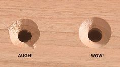 Countersink first, drill the pilot hole second.
