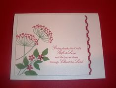 Summer Silhouettes Christmas card by CHERYL LENTZ - Cards and Paper Crafts at Splitcoaststampers