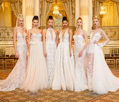 Wedding Dresses by BERTA Bridal Spring 2018 runway show Finale