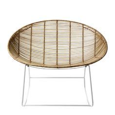 Made from natural Rattan weaved into a sleek white metal frame, this relaxed Cebu Rattan Rocking from Home Republic is both stylish and unique. The Home Republic Cebu Rattan range also includes Bucket Chairs. Oval Chairs, Dining Chairs and Counter Stools to suit your personal style and incorporate the theme throughout your home. Rattan Rocking Chair, Lounge Chair, Modern Scandinavian Interior, Scandinavian Furniture, Bucket Chairs, Home Republic, Metal Structure, Occasional Chairs, Counter Stools