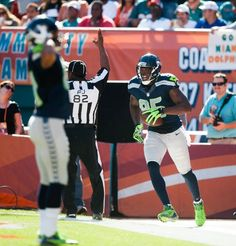 Week 12 -Seahawks at Dolphins. A positive moment in the game.