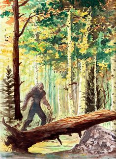 Snow Monster, Monster Art, Mythological Creatures, Mythical Creatures, Bigfoot Pictures, Finding Bigfoot, Bigfoot Sightings, Bigfoot Sasquatch, Legendary Creature