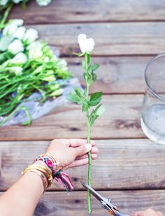 How to Arrange Grocery Store Flowers to Look Professionally Styled #FWx