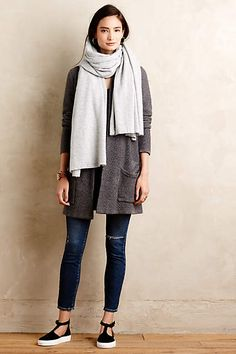 Cozy fall outfit featuring Vielle Cardi - anthropologie.com #anthrofave