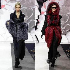 2013 Fur Fashion Week in Moscow