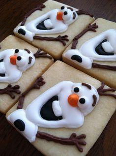 Olaf cookies