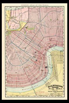 Louisiana Plantation Map House Of History LLCFamily - Louisiana historical map