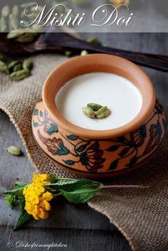 Mishti Doi Recipe – Yogurt Set with Caramelized Sugar. Yummy dessert for  hubby dear.