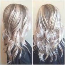 Afbeeldingsresultaat voor ash blonde hair with silver highlights 2016