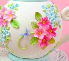 tea pot cake | Close-up Teapot cake | Flickr - Photo Sharing!