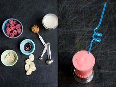 Peanut Butter and Jelly Smoothie | Serious Eats : Recipes