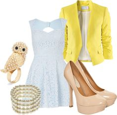 """sweet lace"" by brainyblonde on Polyvore"