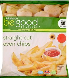 Sainsbury's Be Good to Yourself Oven Chips (1Kg)